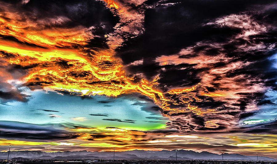 Weather Photograph - I Am That I Am by Michael Rogers