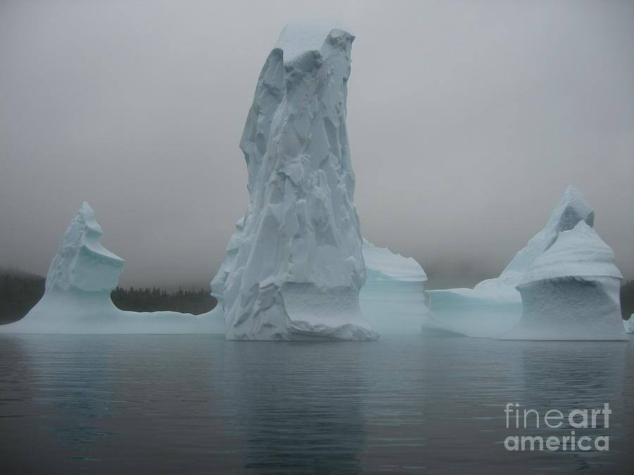 Icebergs Photograph by Seon-Jeong Kim