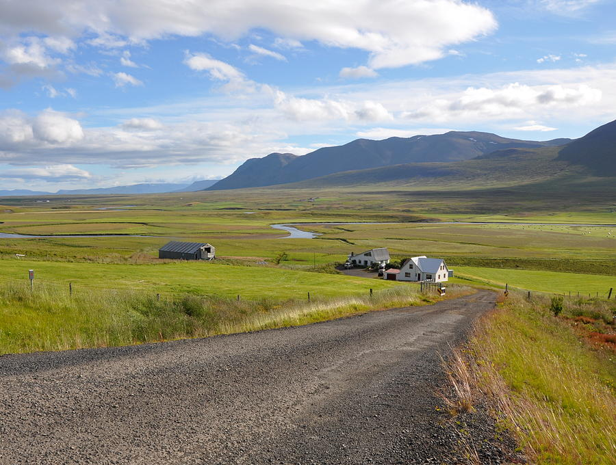 Iceland Photograph - Iceland Landscape by Ambika Jhunjhunwala