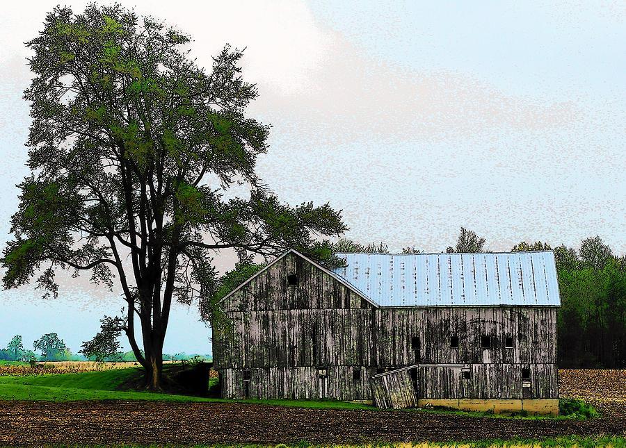Barn Photograph - Indiana Barn by Joyce Kimble Smith