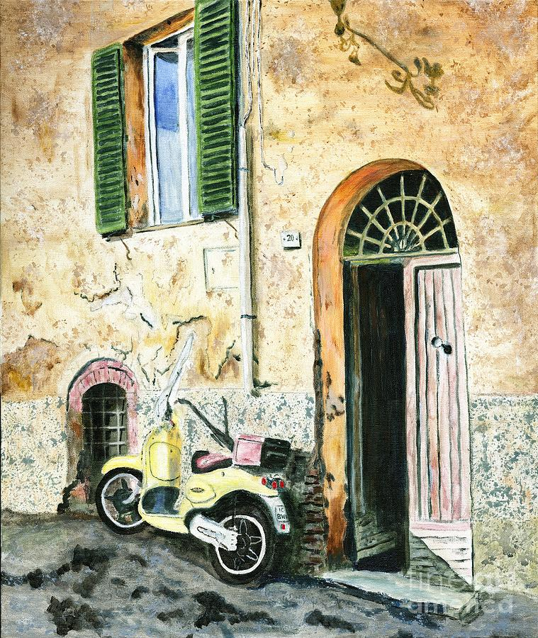 Italy Painting - Italian Alley by Timothy Hacker