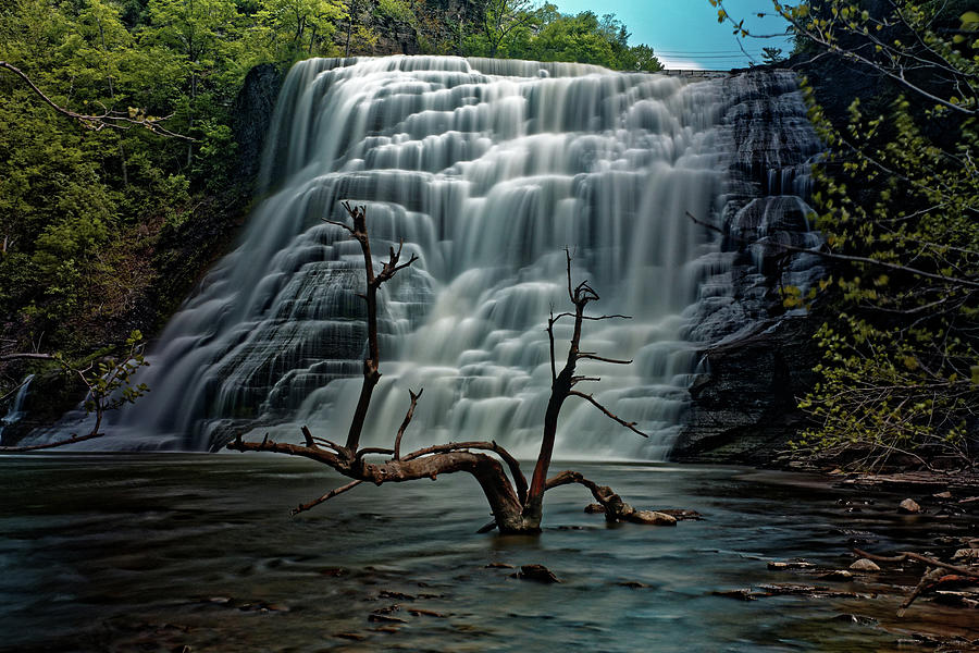 Ithaca Falls by Doolittle Photography and Art