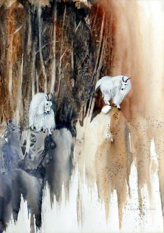 Its Not That Far Painting by Lynne Parker
