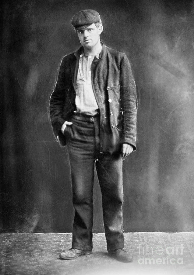 19th Century Photograph - Jack London (1876-1916) by Granger
