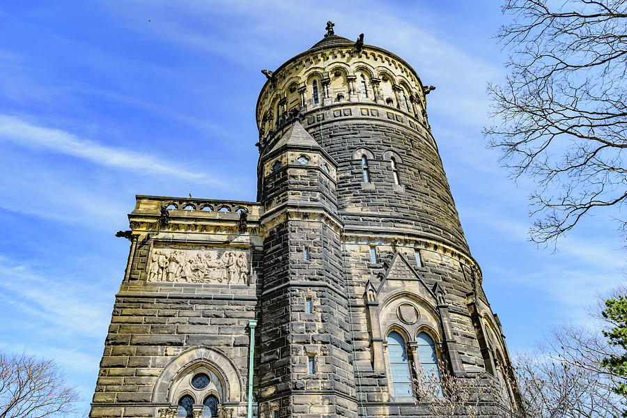 Burial Photograph - James A. Garfield Memorial by Cityscape Photography