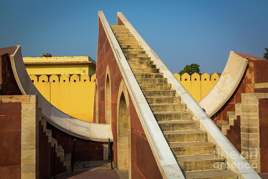 Asia Photograph - Jantar Mantar by Inge Johnsson