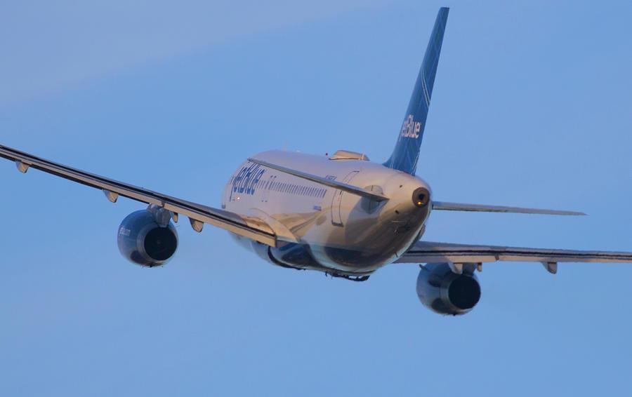 Jet Blue Photograph by Dart Humeston