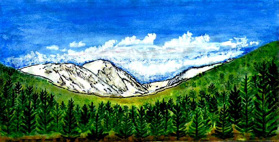 Colorado Digital Art - jGibney Breckenridge CO 1999art300dpi18-9M jGibney by The MUSEUM Artist Series jGibney