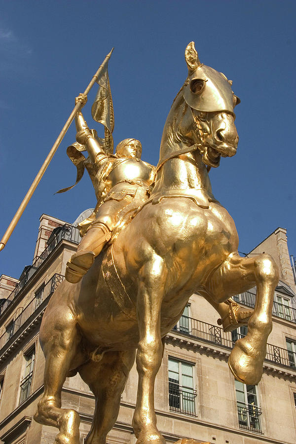 Golden Photograph - Joan Of Arc by Carl Purcell