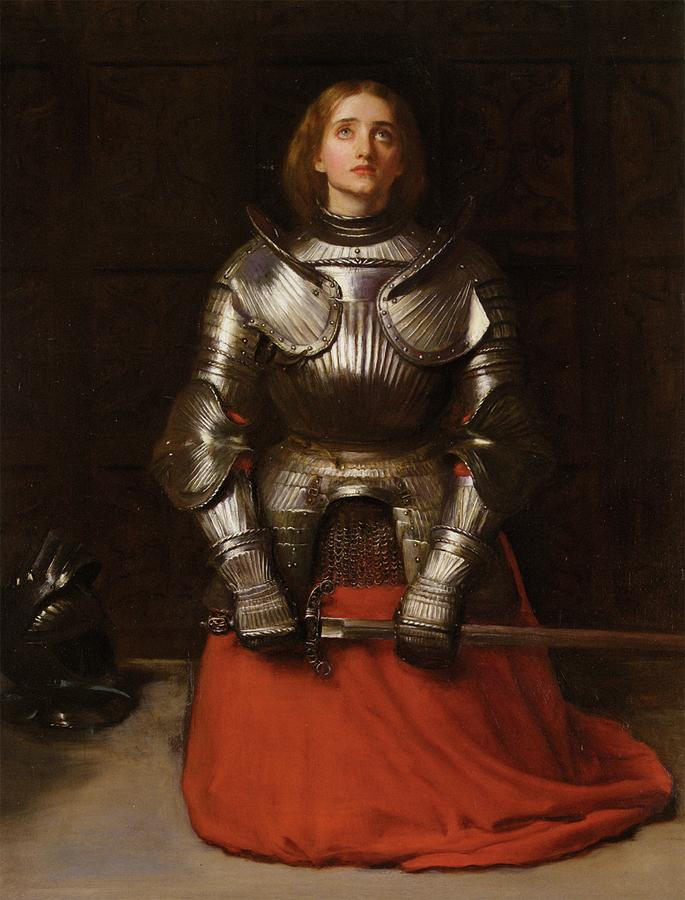 Joan Of Arc by Troy Caperton
