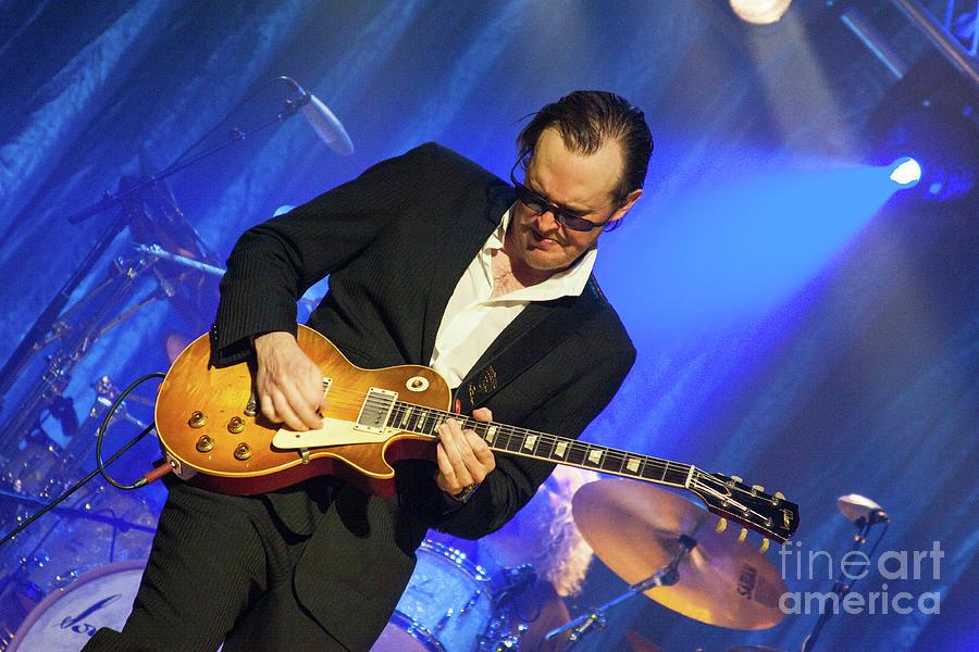 Music Photograph - Joe Bonamassa - Guitar Solo In Minneapolis 2 by Jim Schmidt MN