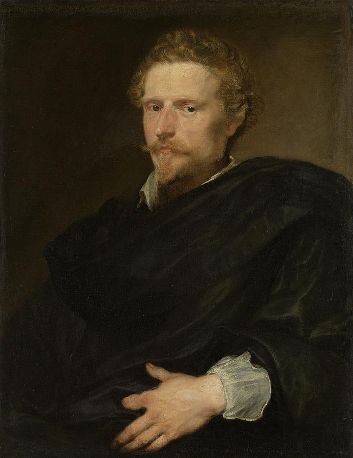 Portrait Painting - Johannes Baptista Franck by Anthony van Dyck