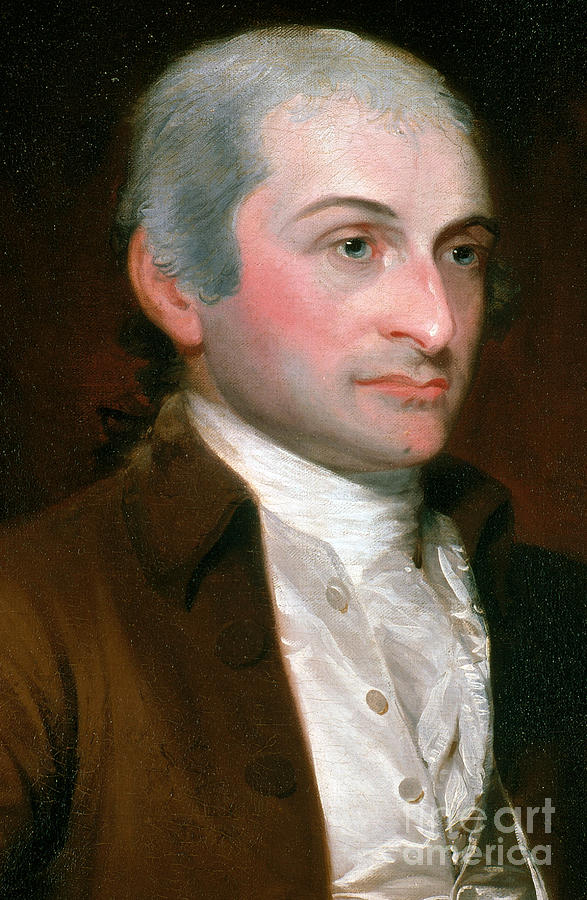 History Photograph - John Jay, American Founding Father by Photo Researchers