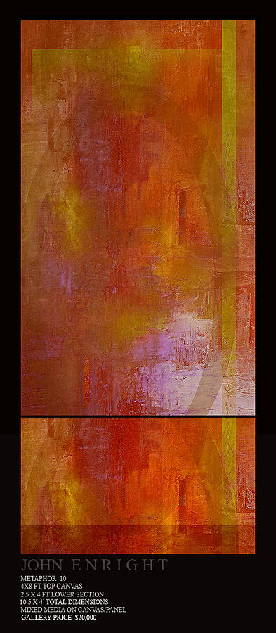Abstract Painting - 2 by John Mark