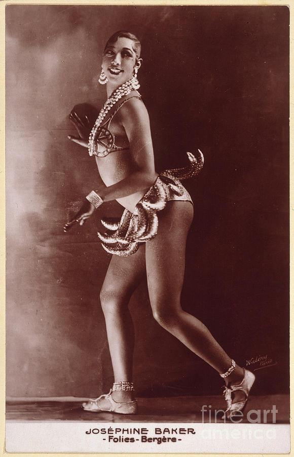 1929 Photograph - Josephine Baker (1906-1975) by Granger