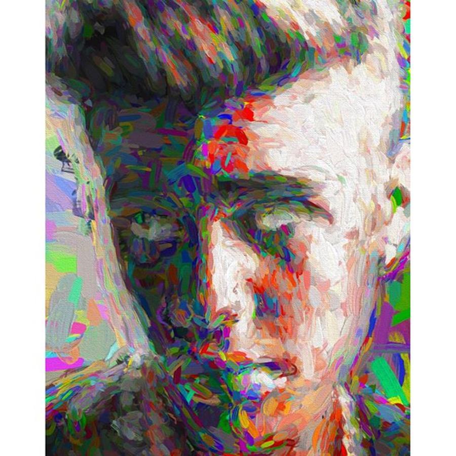 Star Photograph - #justinbieber @justinbieber by David Haskett II