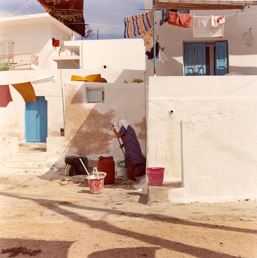 Kalymnos Photograph - Kalymnos Woman by Andrea Simon