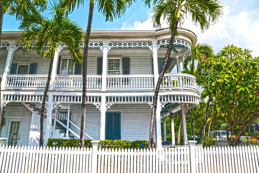 Key West Photograph - Key West Florida The Conch Republic by Lee Vanderwalker