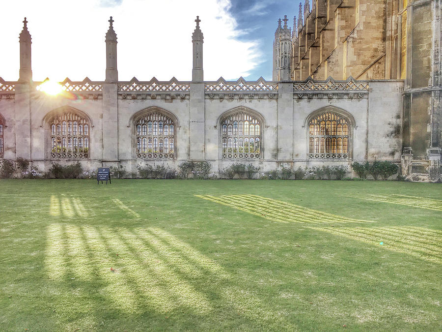 Architecture Photograph - Kings College Cambridge by Tom Gowanlock