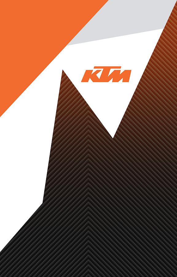 Ktm Digital Art - Ktm Ready To Race  by Srdjan Petrovic