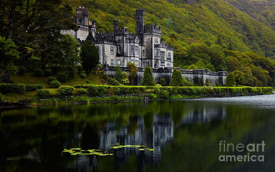 Ireland Photograph - Kylemore Abbey by Gabriela Insuratelu