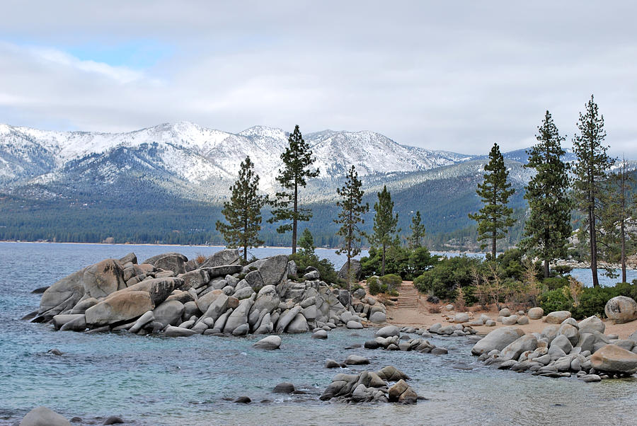 Lake Photograph - Lake Tahoe by Linda Sramek