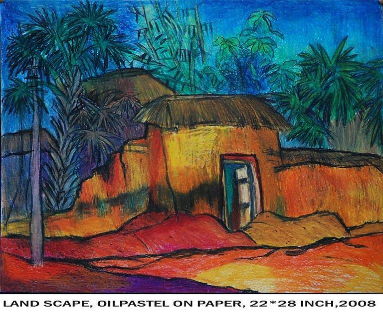 Landscape Painting - Landscape by Manisha Dey
