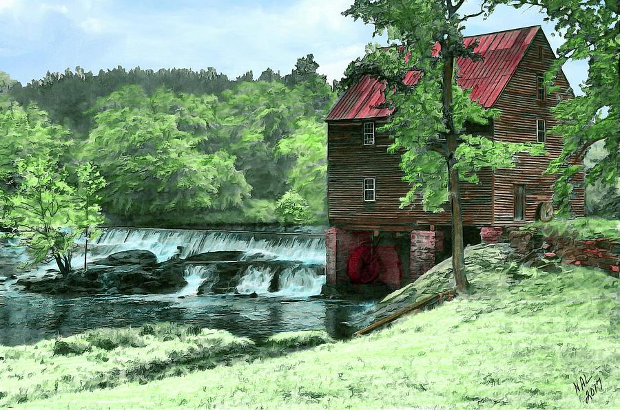 Laurel Mill by Nadine Lewis