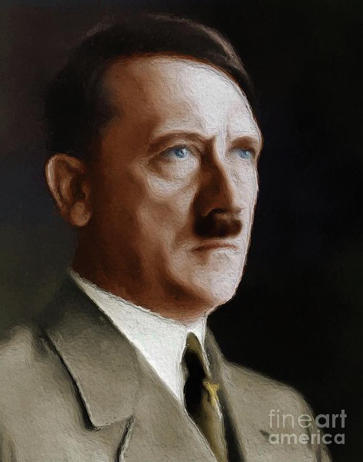 was hitler in world war two
