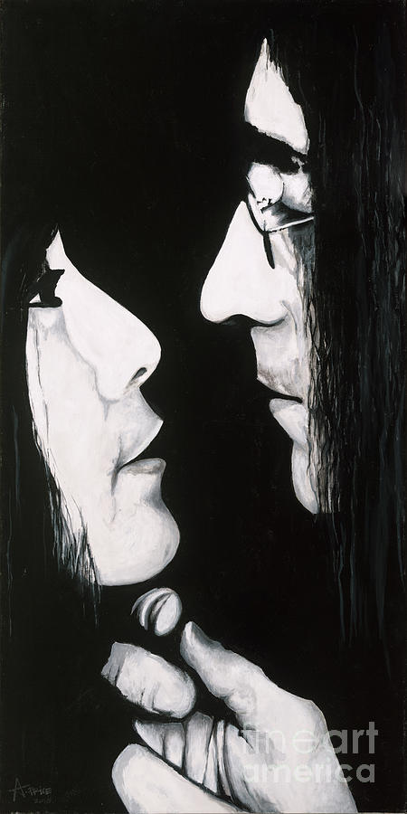 Yoko Ono Painting - Lennon And Yoko by Ashley Price