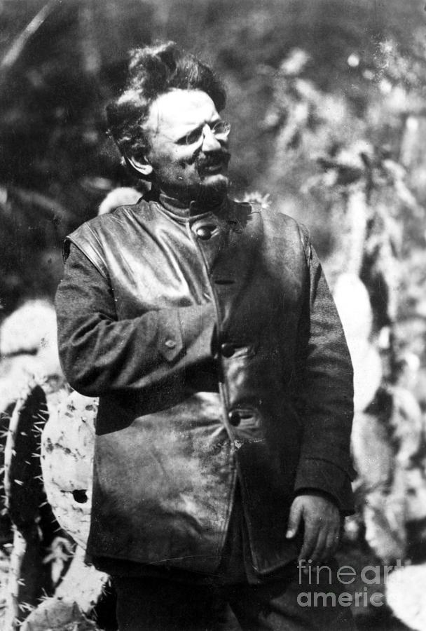 1930s Photograph - Leon Trotsky (1879-1940) by Granger