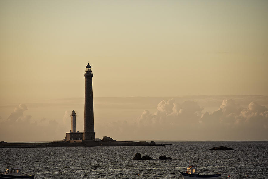 Harbor Photograph - Lighthouse by Nailia Schwarz