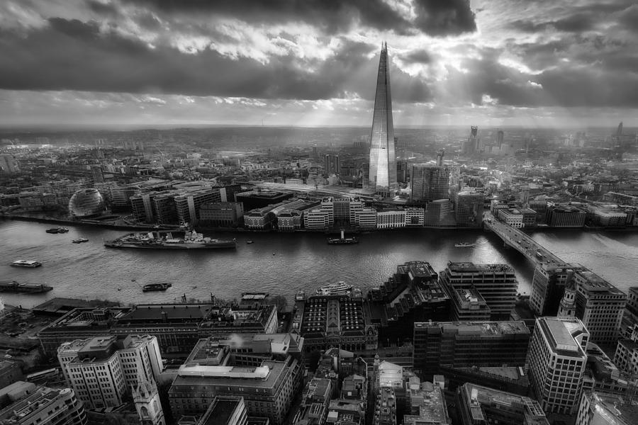 London Photograph - London From The Sky Garden by Ian Hufton