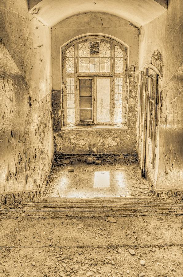 Grunge Photograph - Lost In Decay by Marie Schleich
