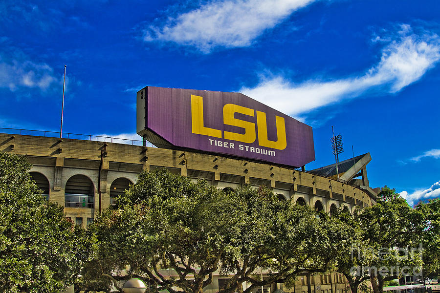 Lsu Photograph - Lsu Tiger Stadium by Scott Pellegrin