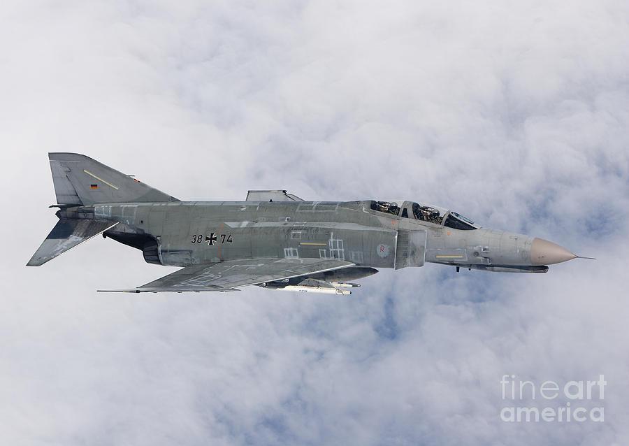 Germany Photograph - Lufwaffe F-4f Phantom by Gert Kromhout