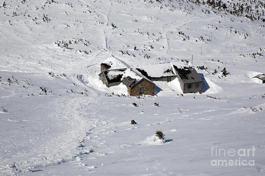 White Mountains Photograph - Madison Spring Hut- White Mountains New Hampshire by Erin Paul Donovan