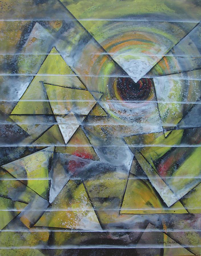 Abstract Painting - Mandala 10 by Sagar Talekar