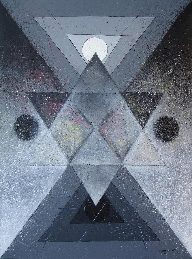 Abstract Painting Painting - Mandala 2 by Sagar Talekar