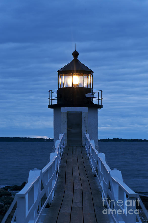 Maine Photograph - Marshall Point Light by John Greim