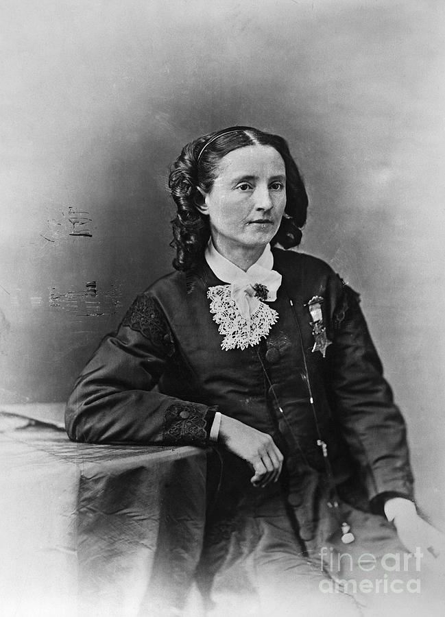 1865 Photograph - Mary Edwards Walker by Granger