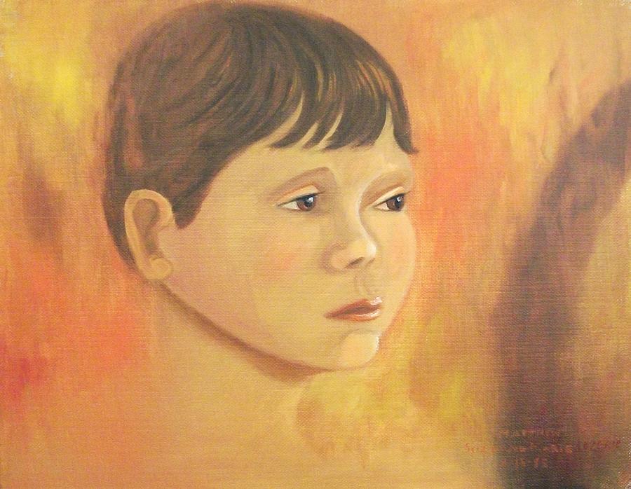 Leclair Painting - Matt Molleur by Suzanne  Marie Leclair