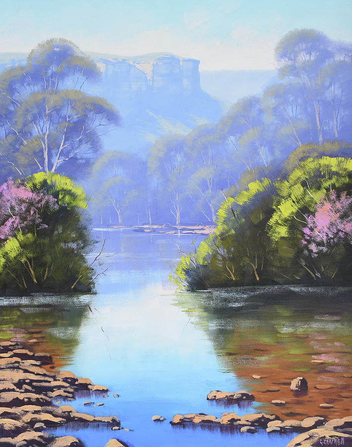 Megalong Creek Painting