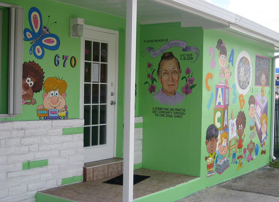 Daycare Painting - Miami Daycare by Murals By Pontet