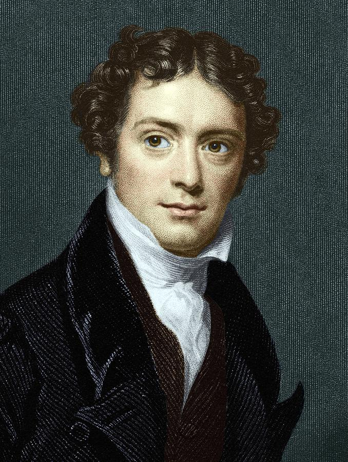 Michael Faraday Photograph - Michael Faraday, British Physicist by Sheila Terry