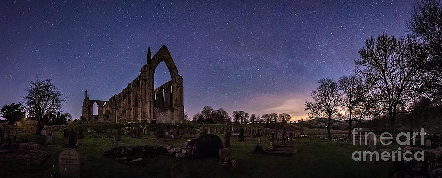 Milky Way @ Bolton Abbey Photograph