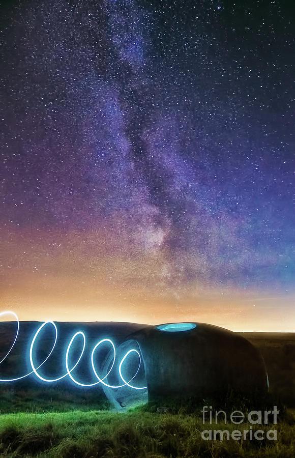 Milky Way And Atom Panopticon Photograph