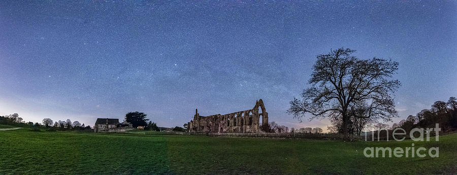 Milky Way In Bolton Abbey Photograph