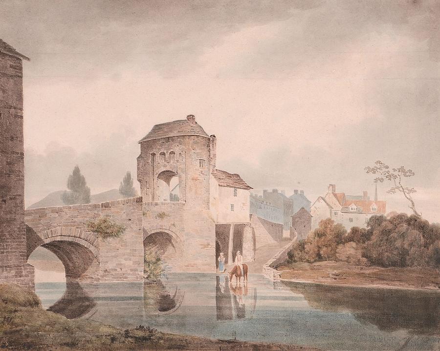 Monnow Bridge Painting