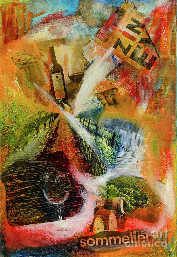 More Wine Painting